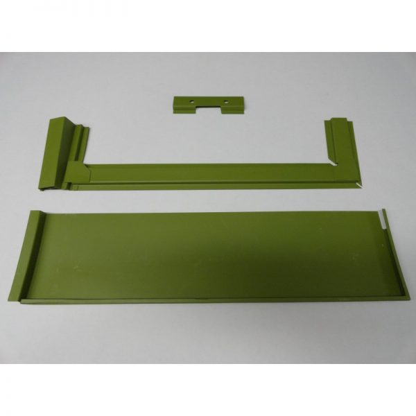 KF563 LOWER REAR CARGO DOOR 6IN HIGH COMPLETE WITH FRAME 50/55