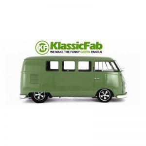 KF572 CARGO FLOOR DOUBLE DOOR 50/55 WITH SEATS (KLASSICFAB CUSTOM OPTION)